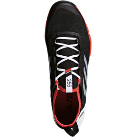 adidas TERREX Agravic Speed Zapatillas running Hombre, core black/ftwr white/hi-res red
